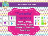 """Funtastic"" Fractions: Fraction Games, Activities, and Ski"