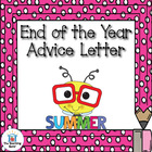 Future Student Letter ~ End of the Year Activity