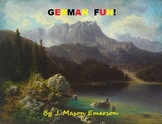GERMAN FUN! (COMMON CORE, 119 PP, INTERACTIVE)