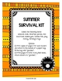 GIFT Summer Survival Kit - for students