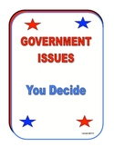 GOVERNMENT ISSUES SURVEY