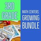 GROWING BUNDLE: Math Center Games
