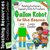 Measurement - Gallon Robot to the Rescue!