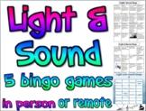 Game: Light and sound bingo