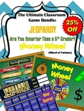 Games Bundle: Jeopardy - Money Wheel - Are you Smarter tha