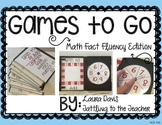 Games To Go: Math Fact Fluency Edition