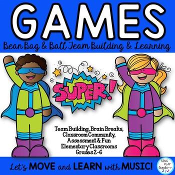 Classroom Games- Team Building, Brain Breaks, Special Needs
