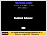 Chemistry - Gas Laws Lab Software