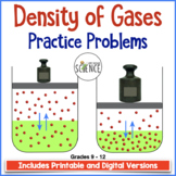 Gas Laws: The Densities of Gases  Homework
