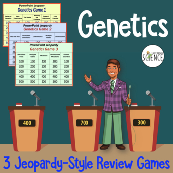 Genetics Review Game - Powerpoint Jeopardy