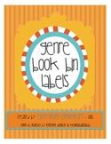 Genre Book Bin Labels