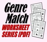 Genre Match (Genre Review Worksheets