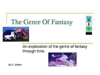 Genre Of Fantasy