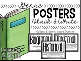 Genre Posters (Black & White)