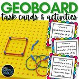 Geoboard Task Cards - Fun with Area, Perimeter, Multiplica