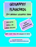 Geography Flashcards