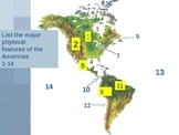 Geography Review of The Americas (Canada, Latin America) E