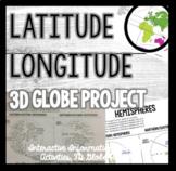 Latitude, Longitude, and 3D Globe Project