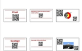 Geology QR Interactive Vocabulary Cards
