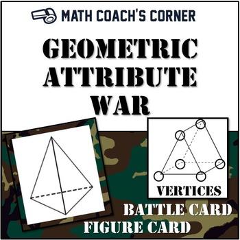 Geometric Attribute War; Attributes of 3-D Figures