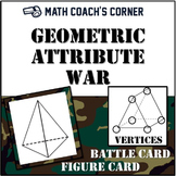 Geometric Attribute War; Attributes of 3-D Figures