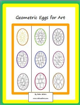 Geometric Eggs for Art and Fun
