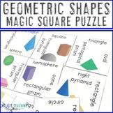 Geometric Shapes Magic Square