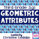 Common Core Geometric Attributes Lesson Plan Unit- 3rd Grade