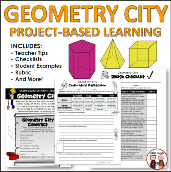 Geometry City Math Activity and Project