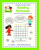 Explore and Learn 3rd Grade Perimeter Standards: Battling