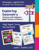 Geometry - Polygons - Math Centers & Posters to Support th