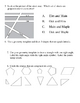 Geometry Review Packet
