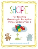 Geometry - Teaching Shape for Kindergarten (Reception) /Year 1