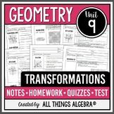 Geometry: Transformations (Unit 9) - Unit Bundle!