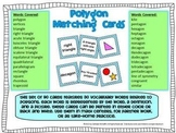 Geometry Vocabulary Cards for Polygons