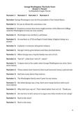 George Washington Five Reader's Theater Scripts Common Cor