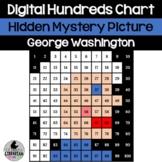 George Washington Hundreds Chart Hidden Picture Activity f