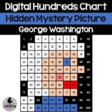 George Washington Hundreds Chart Hidden Picture Activity f