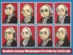 George Washington Portrait Drawing Step-by-step Powerpoint Lesson