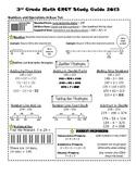 Georgia 3rd Grade Math GA MilestonesCRCT Study Guide
