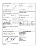 Georgia Accelerated Math 1 Targets Set 11