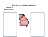 Georgia Graphic Organizer