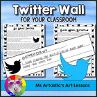Twitter Wall: Get Tweeting! Just Print and GO! Classroom T