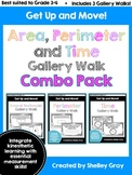 Get Up and Move! {An Area, Perimeter and Time Gallery Walk
