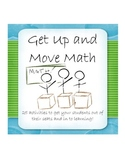 Idea Book: Get Up and Move Math (Algebra, Geometry, Class