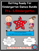 Getting Ready For Kindergarten Bundle