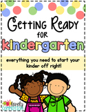 Getting Ready for Kindergarten Pack