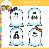 Ghost Clip Art Freebie
