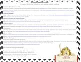 Giant Poster Bundle: Book Themes, Literary Elements & Devi