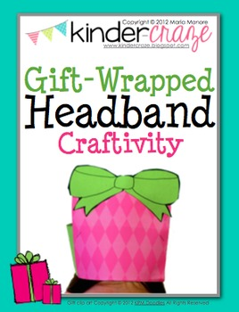 Gift-Wrapped Headband Craftivity
